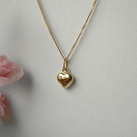 90d92f909e4d ECHT GOLD Herz Anhänger + Kette GOLD DOUBLE, für Kinder   eBay